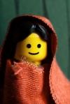 Afghan girl - (2) Lego