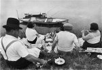 By the Marne river - (1) Henri Cartier-Bresson