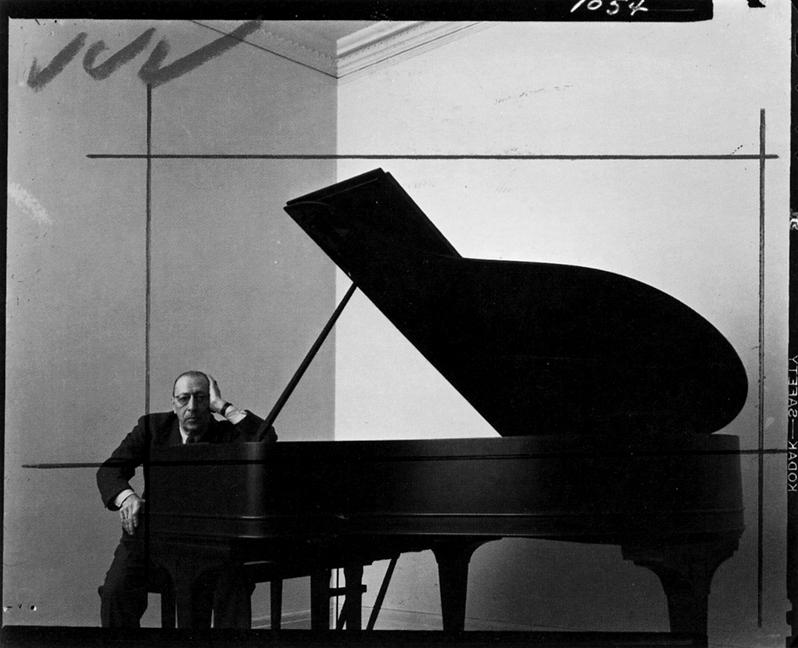 Arnold Newman - Igor Stravinsky - 1946