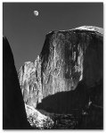 Ansel Adams - Moon half dome (1)