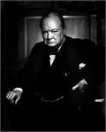 Yousuf Karsh - Winston Churchill portrait (1)