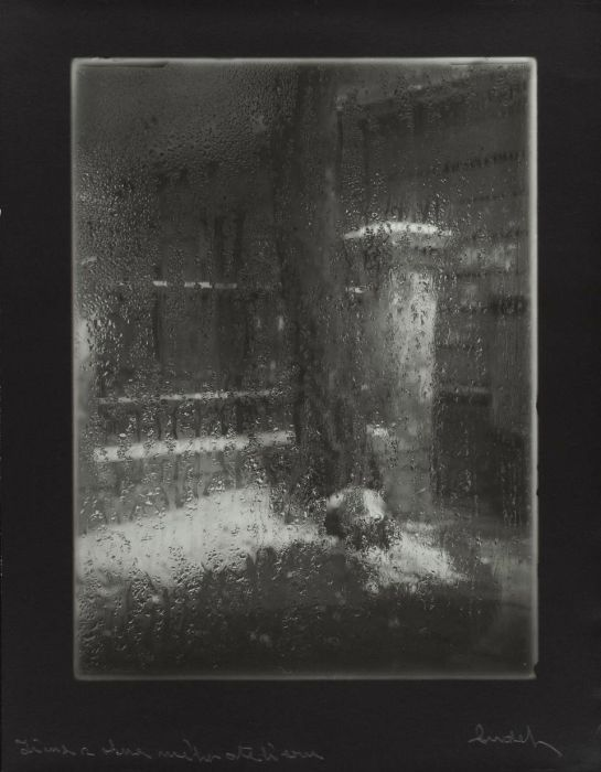 Josef Sudek - From the window of my atelier - 1