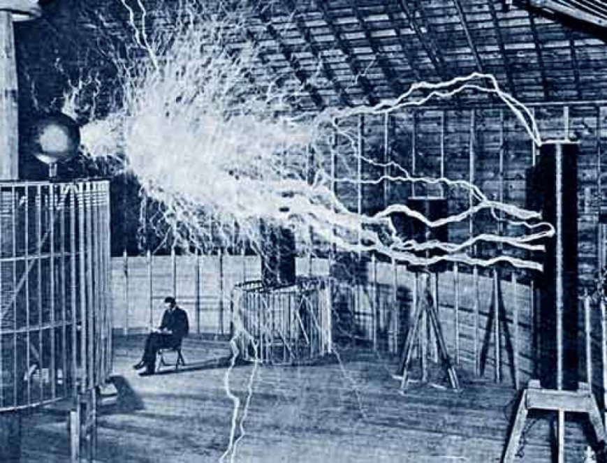 Nikola Tesla - 1900