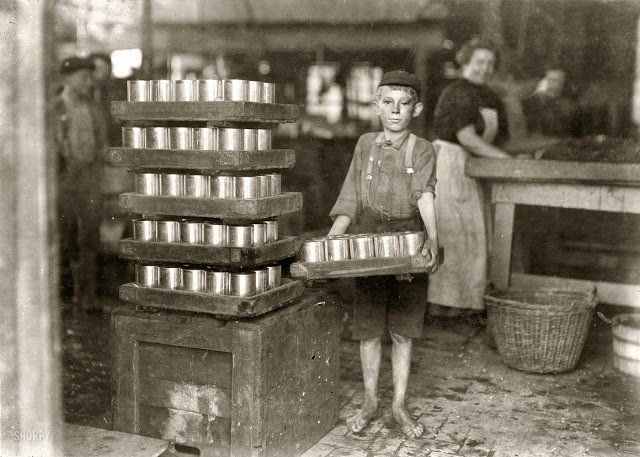 Lewis Hine - Labout children - 2
