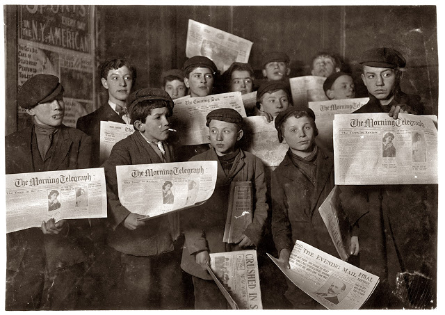 Lewis Hine - Labout children - 5
