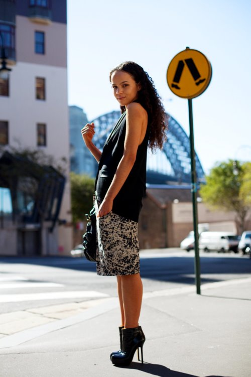 the-sartorialist-blog-april-black-skirt-girl-sydney