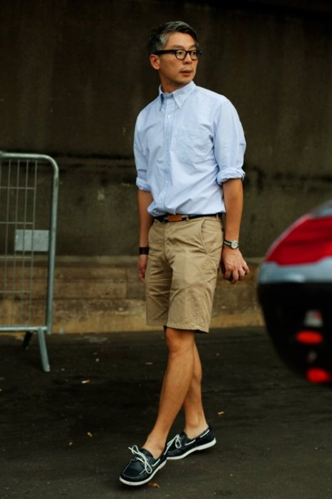 the-sartorialist-blog-july-classic-shorts-guy-paris