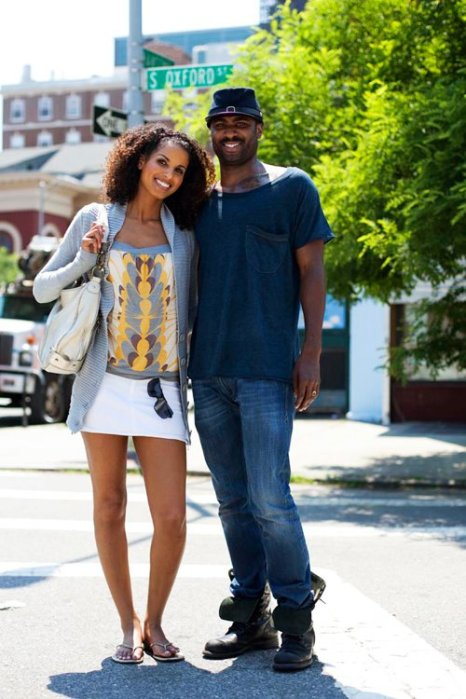 the-sartorialist-blog-june-couple-grey-yellow-brooklyn
