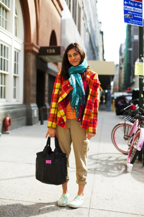 the-sartorialist-blog-march-yellow-coat-girl-new-york