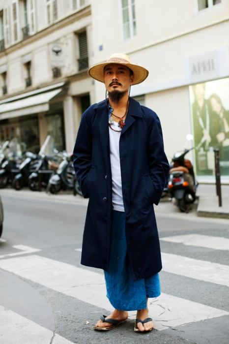 the-sartorialist-blog-october-hat-necklace-guy-paris