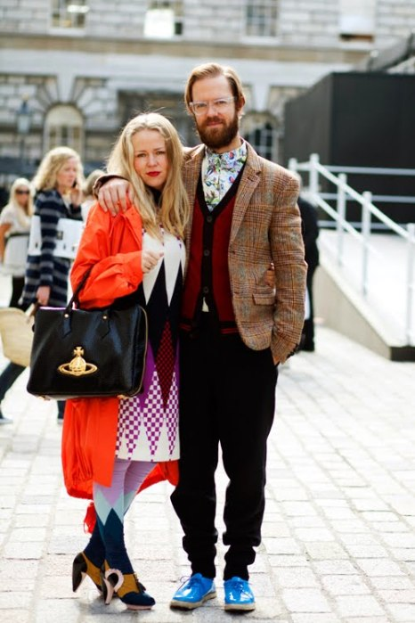 the-sartorialist-blog-october-orange-coat-couple-london