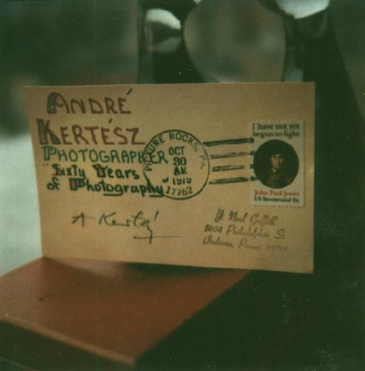 Andre Kertesz - Polaroid - 13