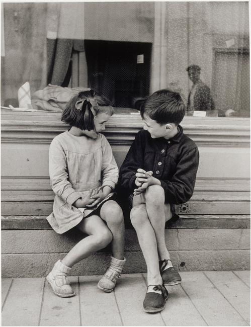 Brassai - Paulette et Andre - 1949