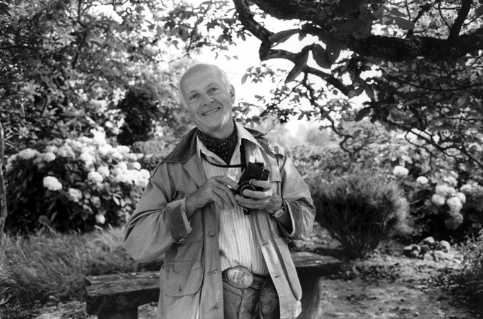 Henri Cartier-Bresson by Martine Franck