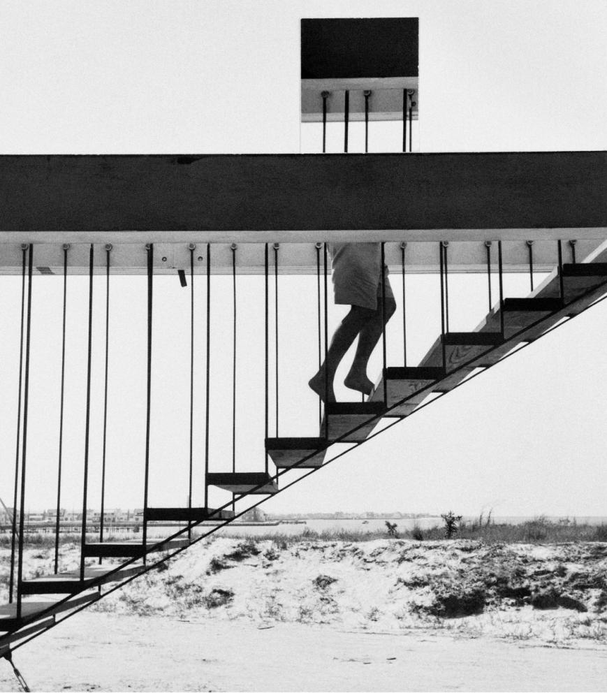 Andre Kertesz - Acto de desaparicion - 1955