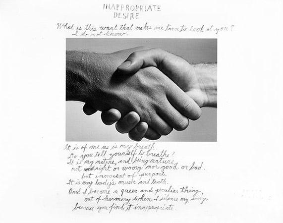 Duane Michals - Inappropiate desire - 1986