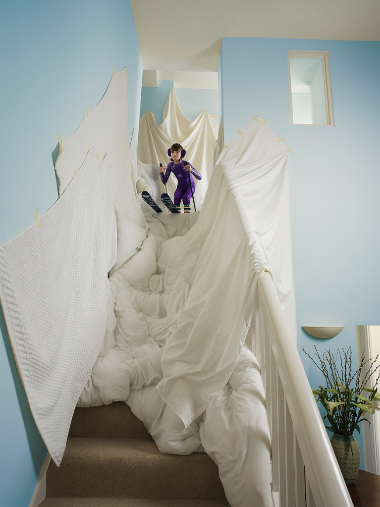 tim-macpherson-kids-at-play-skier-down-stairs