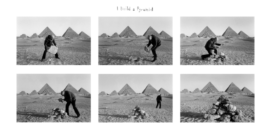 Duane Michals - I build a pyramid