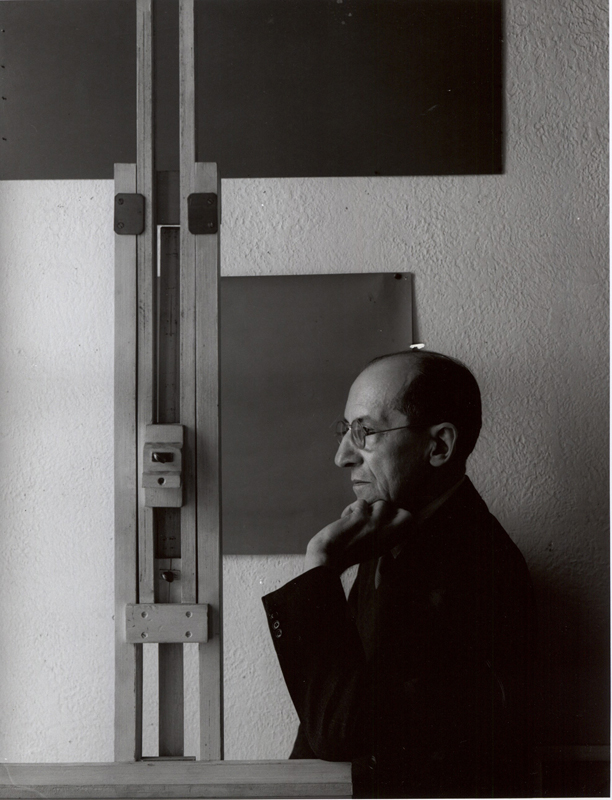 Pietr Mondrian by Arnold Newman - 1942
