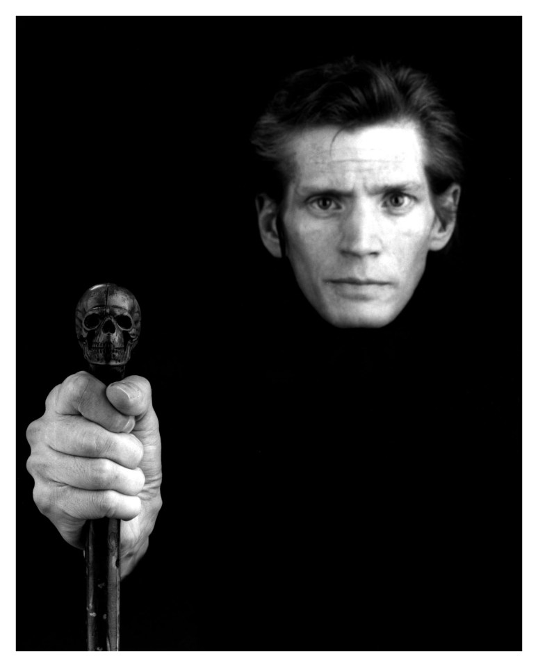 Robert Mapplethorpe - Selfportrait - 1988