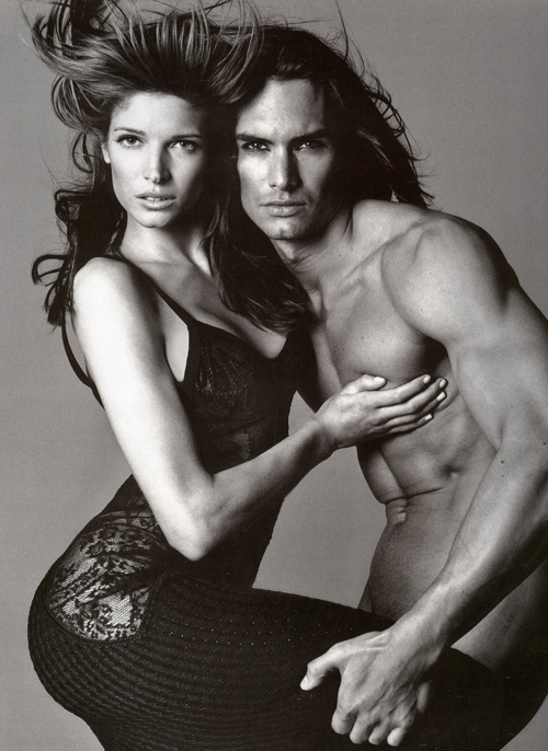 Stephanie Seymour and Marcus Schenkenberg - 01