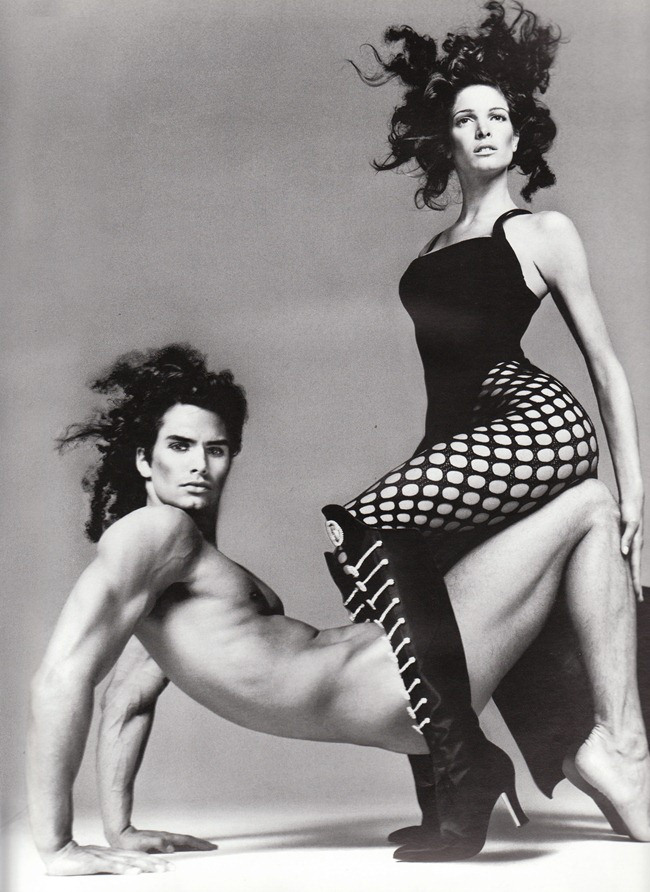 Stephanie Seymour and Marcus Schenkenberg - 2