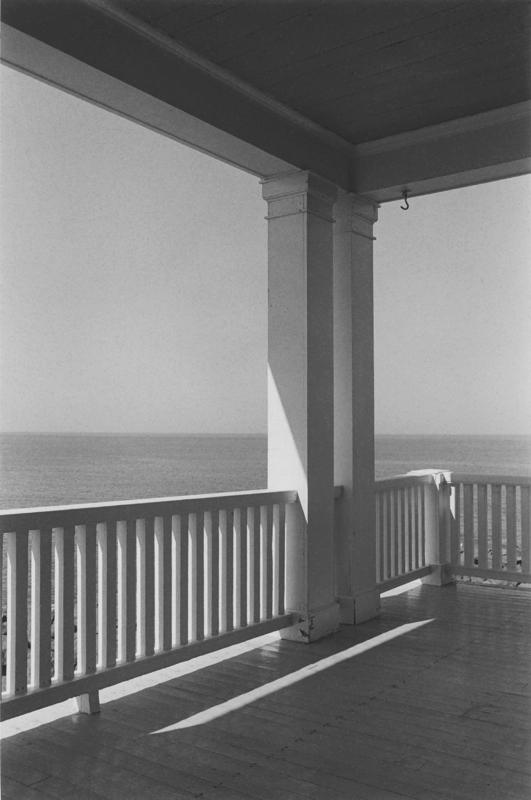 George Tice - Porch Monhegan Island-ME-1971