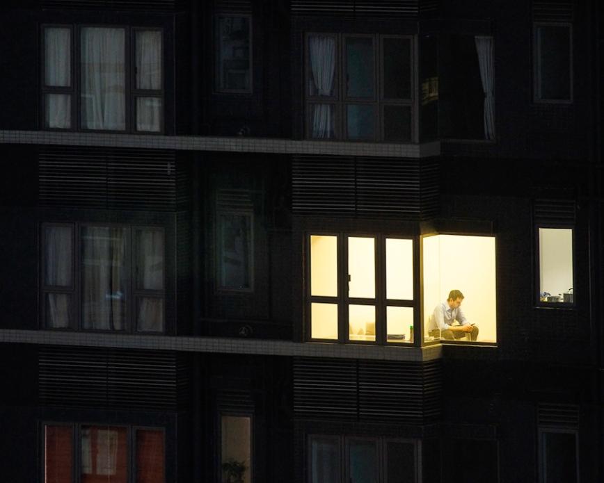 Michael Wolf - Window Watching - 8