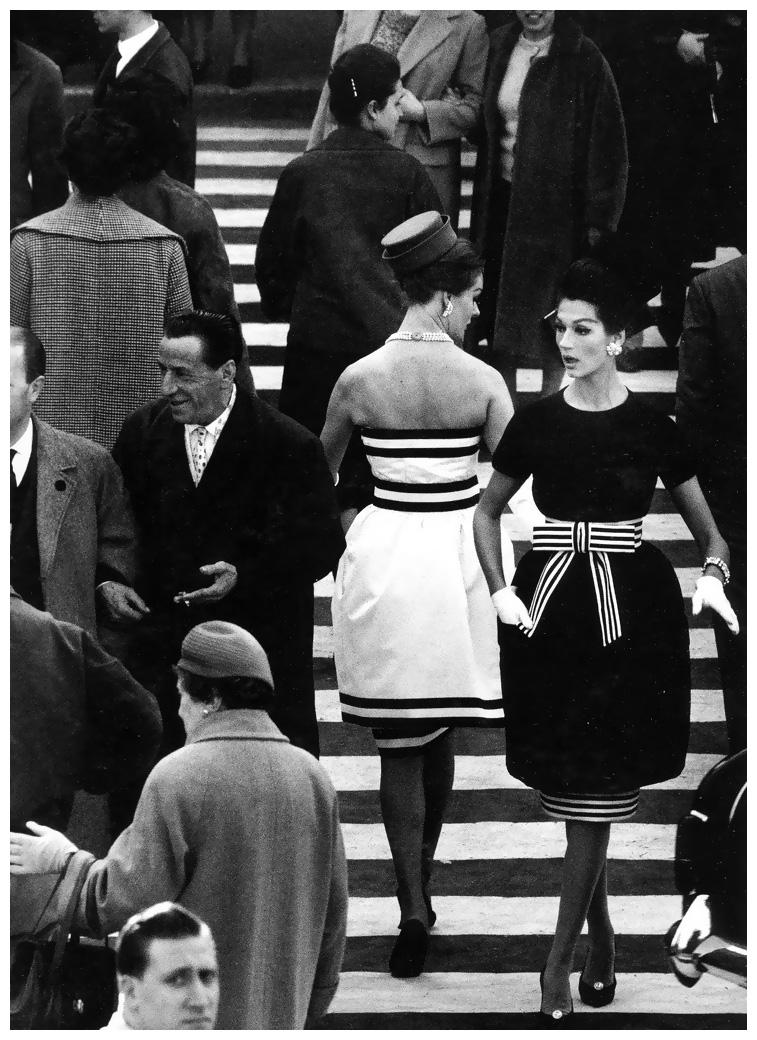 Simone and Nina - by William Klein - 1960 - 1