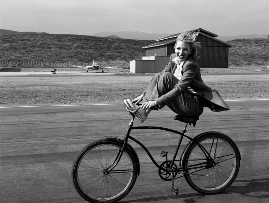 Cate Blanchet by Annie Leiboviz
