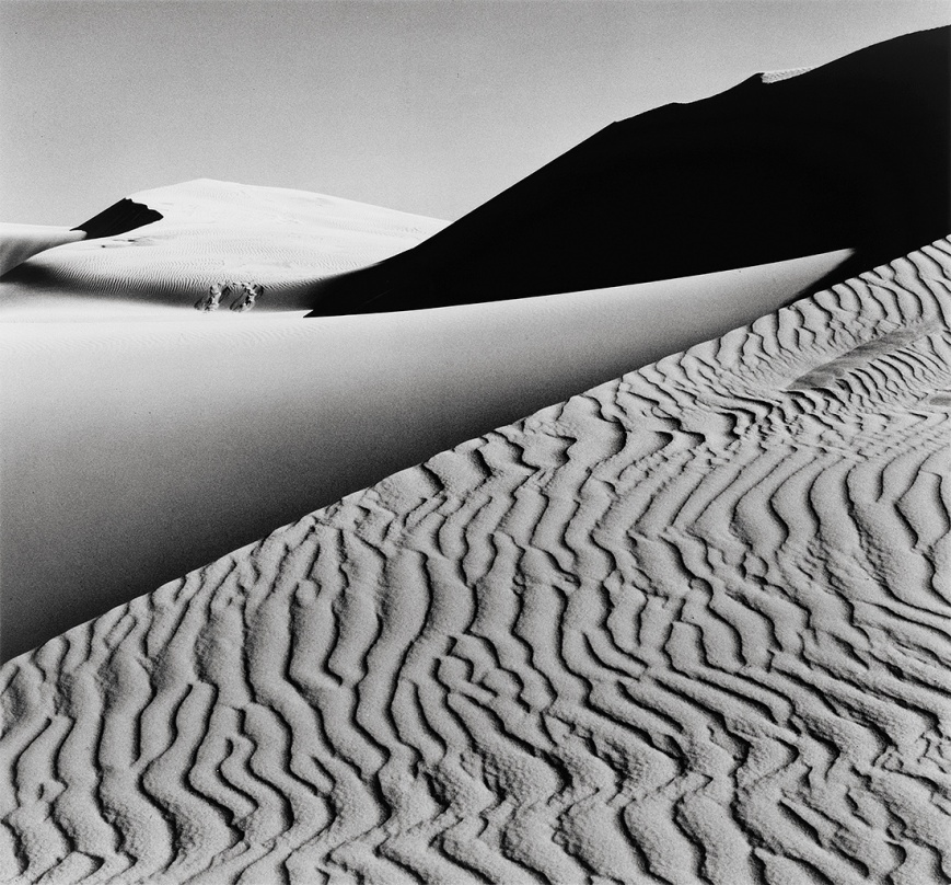 Ansel-Adams-Dunes-Oceano-California-1963