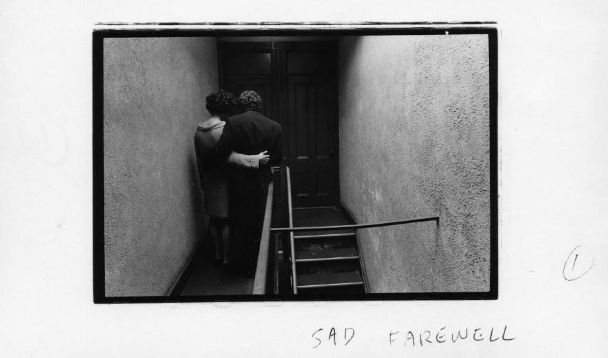 Duane Michals - Sad farewell - 1 - 1968