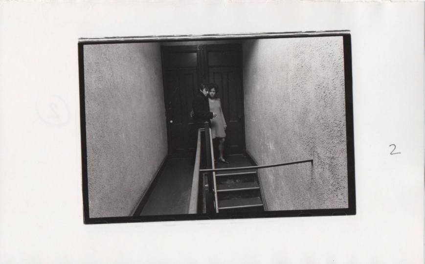 Duane Michals - Sad farewell - 2