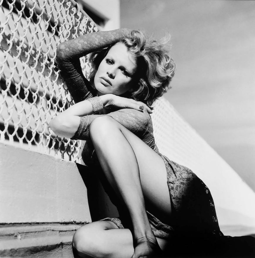 Kim Bassinger by Helmut Newton