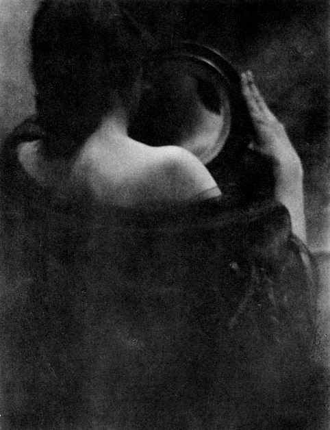 Edward Steichen - The mirror - 1902