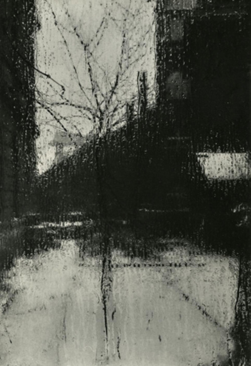 Josef Sudek - From the window of my atelier - 1940s