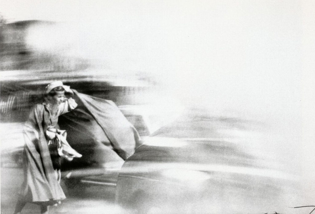Louis Faurer - Beauty in the wind - 1948