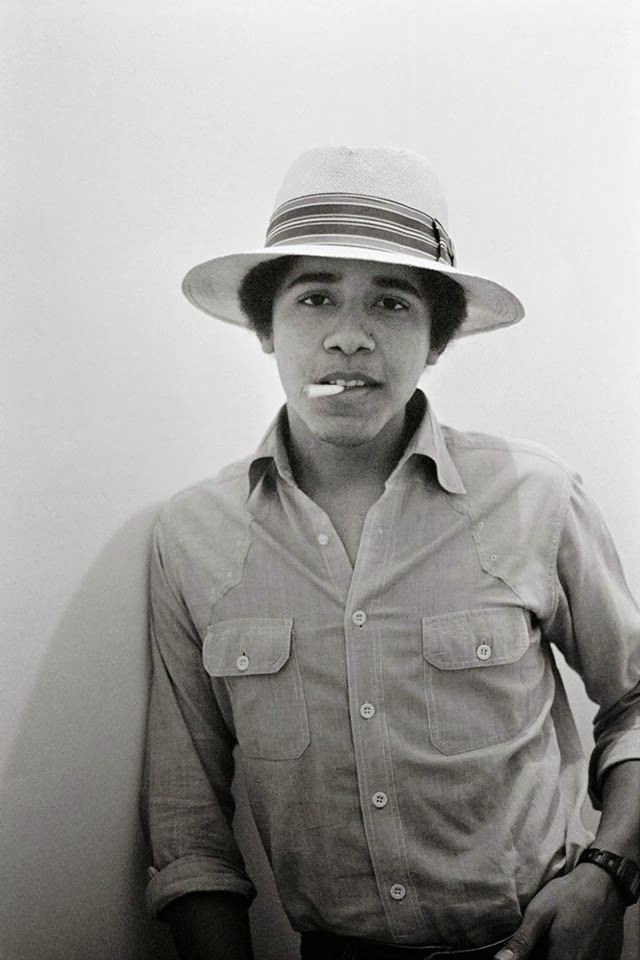 Photographs of Barack Obama as Barry the Freshman in 1980 by Lisa Jack (10)