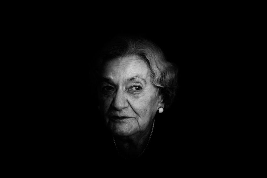 Irena Ekert, KL Ravensbruck survivor. Ukrainian troops picked th