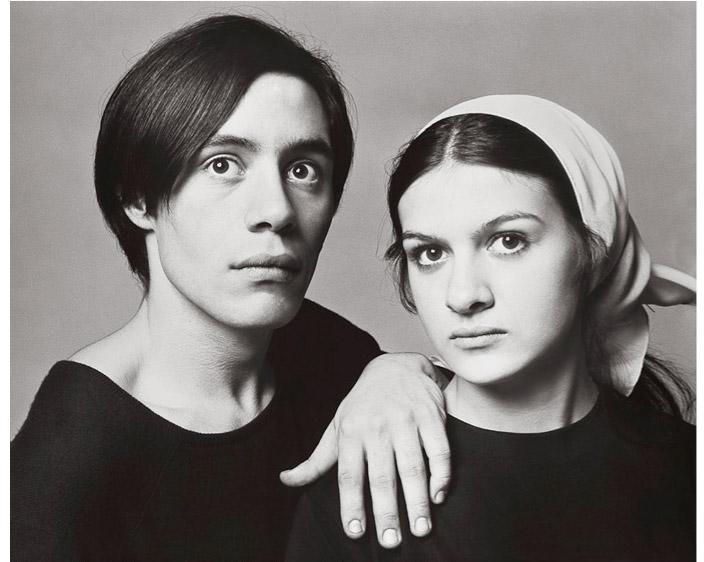 Claude & Paloma Picasso, Paris (by Richard Avedon, 1966