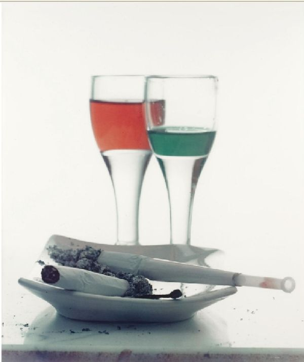 Irving Penn - Two liqueurs - 1951