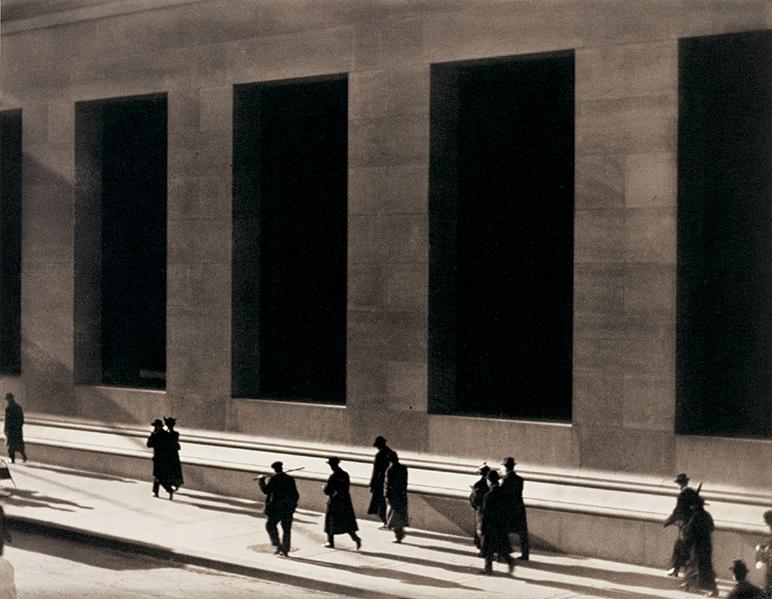 Paul Strand - Wall Street - 1915
