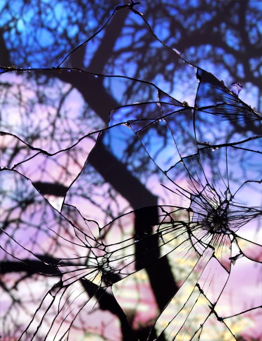 Broken Mirror-Evening Sky (Cibachrome)_web