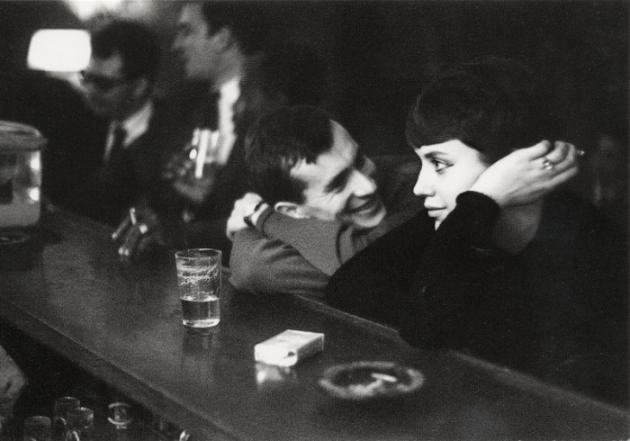 Paul Almasy - Couple dans un bar parisien - 1960