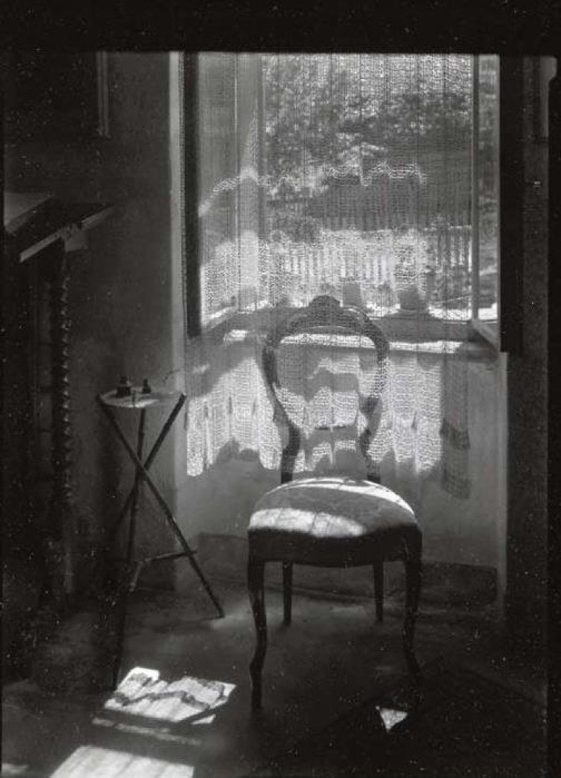 Josef Sudek - Chair by the window - 1972