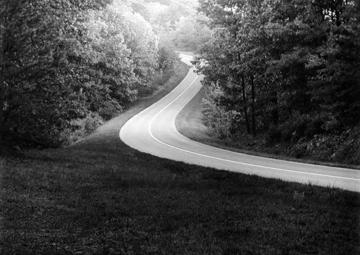 Paul Caponigro - Blue Ridge Parkway - Virginia - 1965