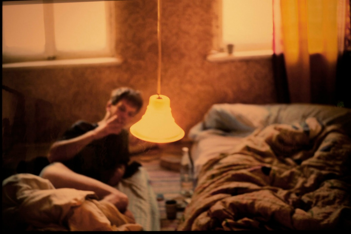 Nan Goldin - David in bed