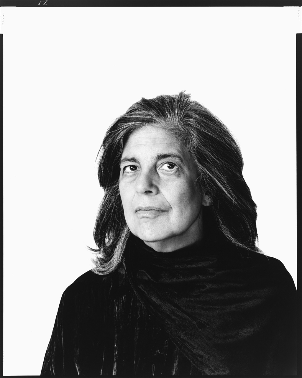 Susan Sontag, writer, New York City, February 11, 2000