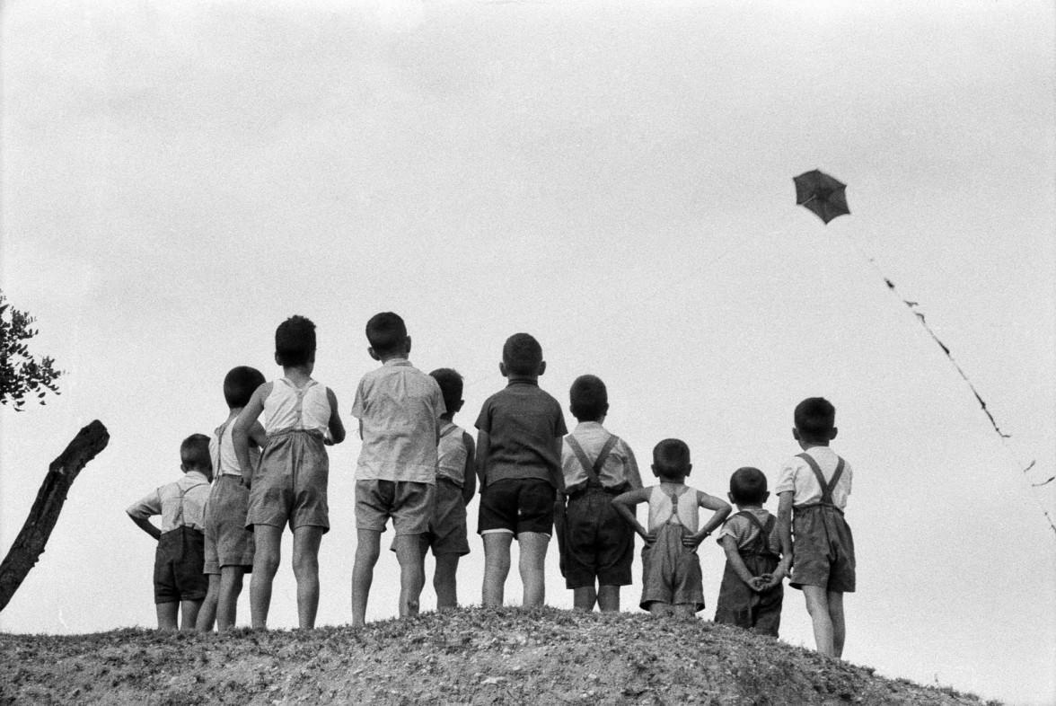 Ricard Terre - Mirando la cometa