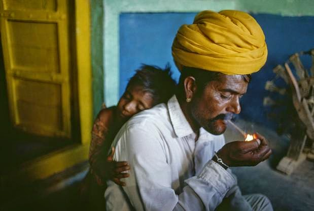 Steve McCurry - Father and son